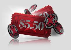 Бесплатный билет на турнир $5.50 от Betsafe poker