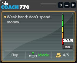 Coach770  на Poker770