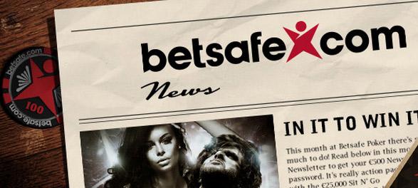 Бонусы / Акции / Турниры на Betsafe Poker в сентябре